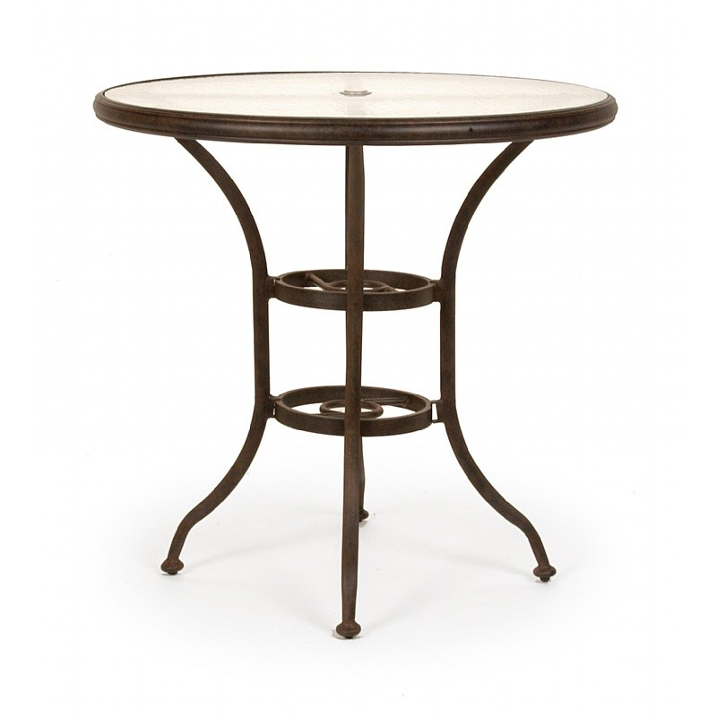 Patio Furniture Clearance: Origin Cast Aluminum Round Bar Table 42 inch
