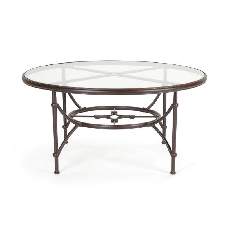 origin cast aluminum round dining table 60 inch ca 8882a 60 cozydays. Black Bedroom Furniture Sets. Home Design Ideas