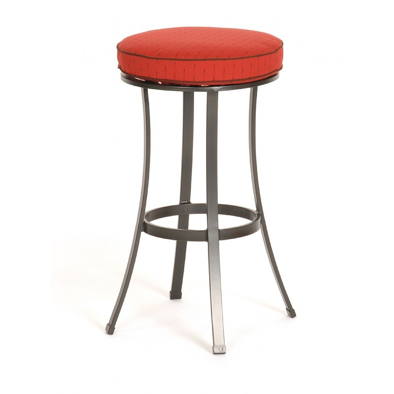 San Michelle Cast Aluminum Dining Bar Stool : Patio Chairs