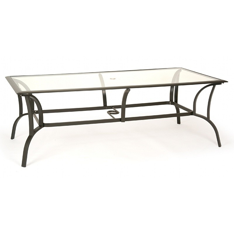 san rectangular patio dining table 84 inch with
