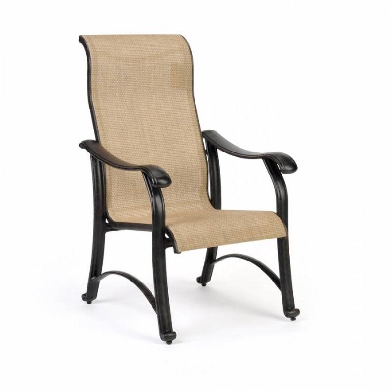 Venice Die Cast Sling Outdoor Dining Chair : Dining Chairs