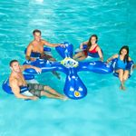 Inflatable Ahh-Qua Bar 4 Pool Seats with Center Cooler