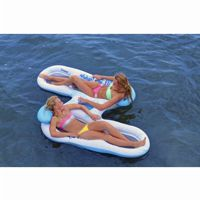 Inflatable Ahh-Qua Double Lounger AV1031000