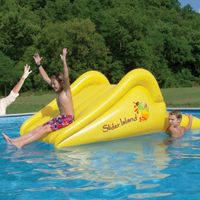 Slick Slider Island Pool Slide AV1019383
