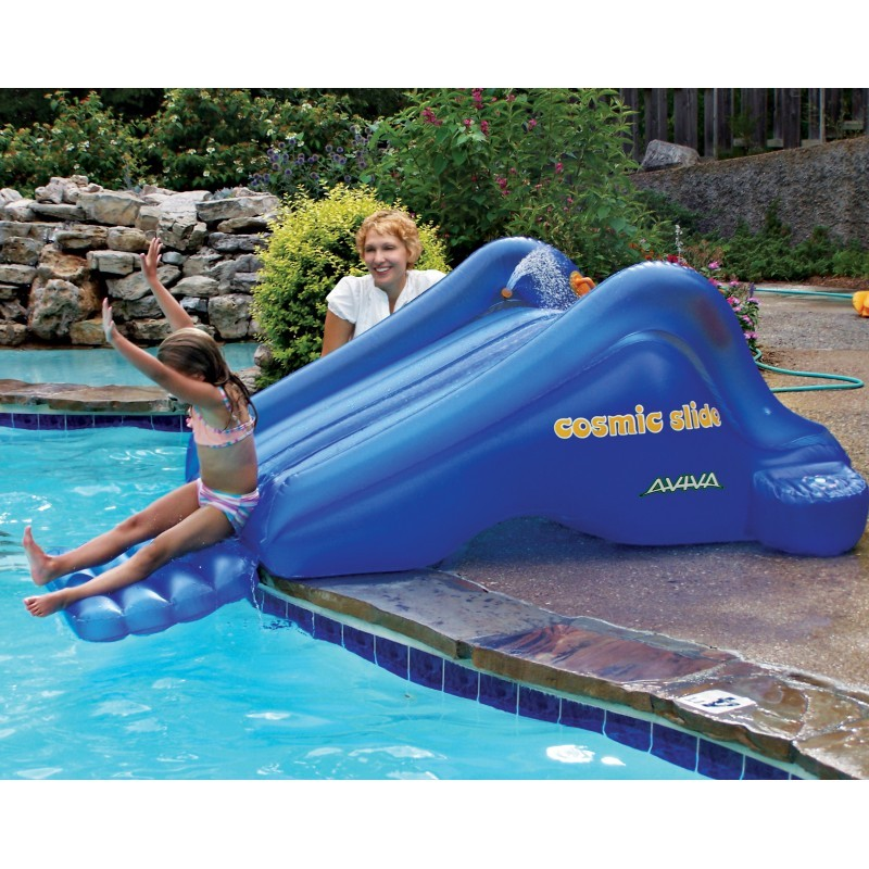 Kids Inflatable Pool Slides: Cosmic Inflatable Kids Pool Slide