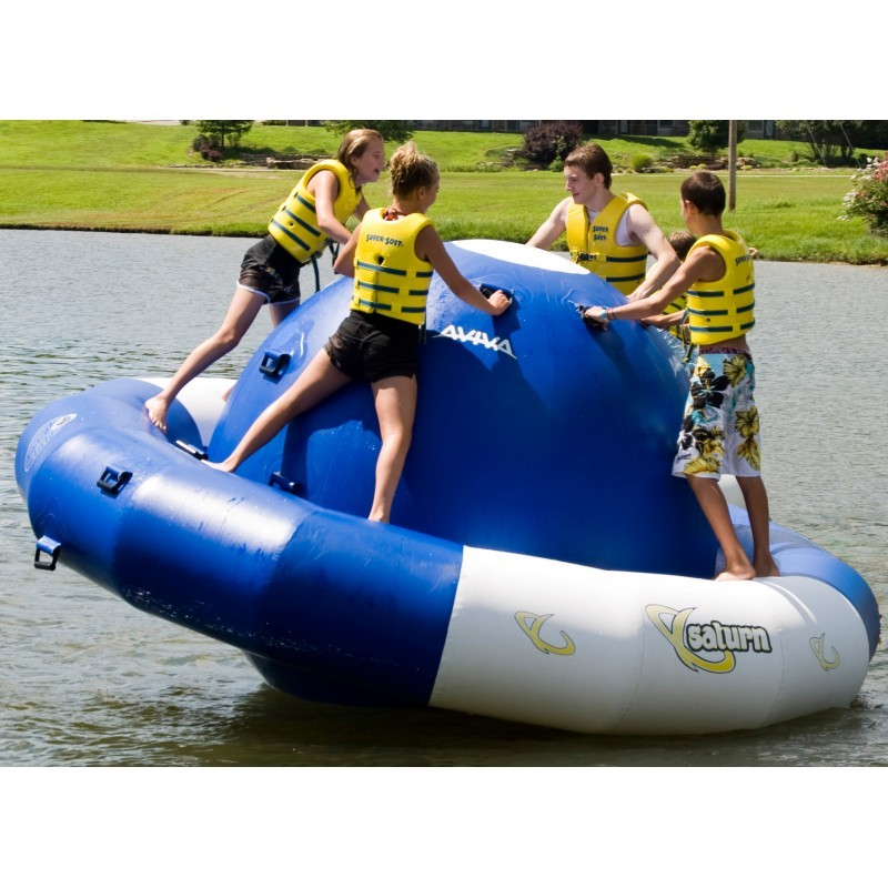 Lake Trampolines, Bouncers, Rafts: Saturn Pro Lake Rocker 12 Ft.