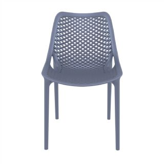 Air Outdoor Dining Chair Yellow ISP014 360° view
