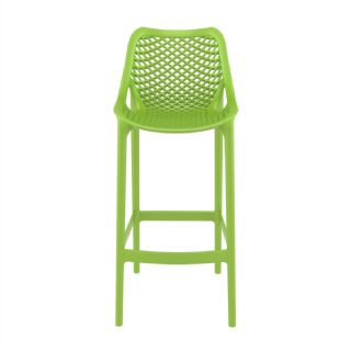 Air Outdoor Bar High Chair White ISP068 360° view