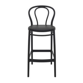 Victor Outdoor Bar Stool Dark Gray ISP262 360° view