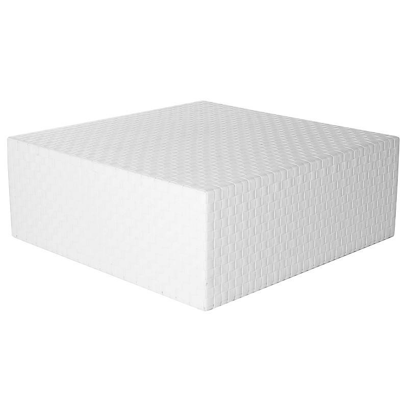 Cube Big Contemporary Outdoor Bench Tid3412