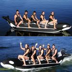 Whale Ride Towable Water Tube 5 Passenger AS-PVC-5-WR