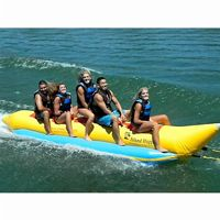 5 person towables, banana boats, water tubes