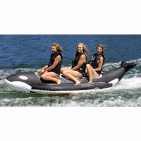 Whale Ride Towable Water Tube 3 Passenger AS-PVC-3-WR