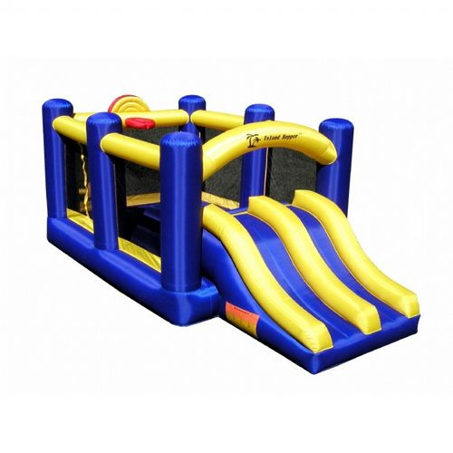 Racing Slide and Slam Bounce House AS-RACSLDSLM