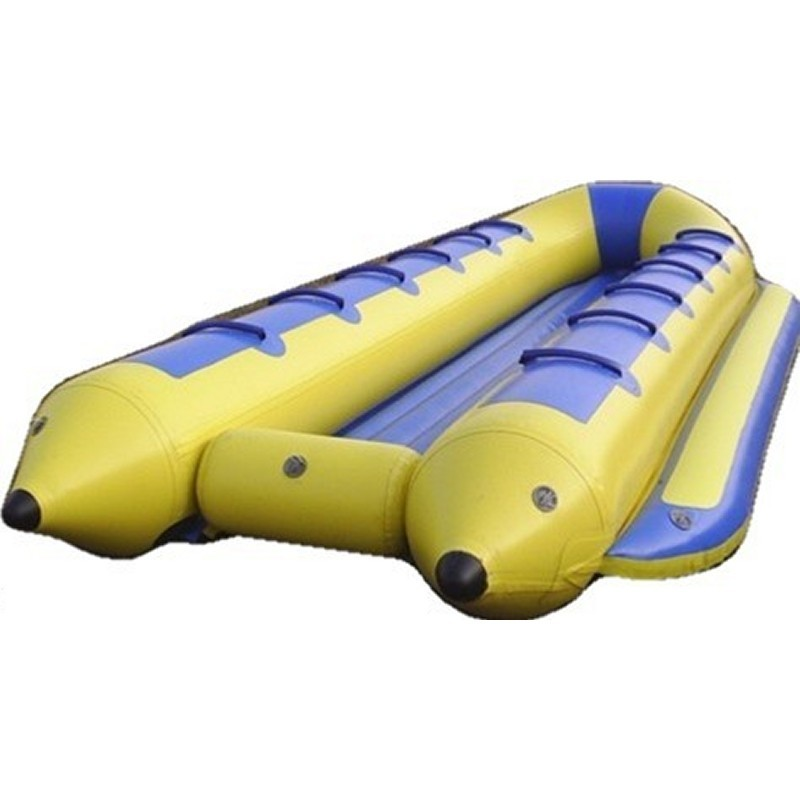 Blob Water Inflatable: Banana Taxi Towable Boat 12 Passengers