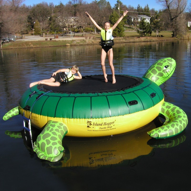 Kids Water Bouncers & Trampolines: Turtle Hop Water Bouncer