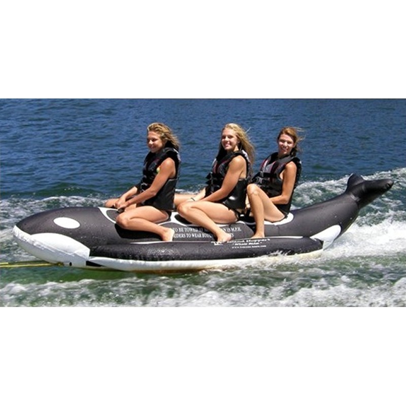 Manta Ray Towable Flying Water Tube: Whale Ride Towable Water Tube 3 Person