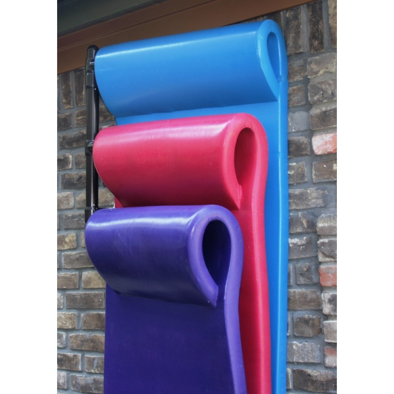Clearance Pool Floats: Wall Mounted Pool Float Hanger 3 Float Rack