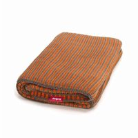 Fatboy® Klaid Large Throw Blanket Taupe/Neon Orange FB-KLAID-TPE-ORG