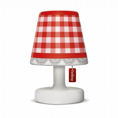 Fatboy® Cooper Cappie Lampshade - Plaid Red FB-CCP-PLDRED