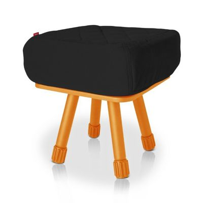 Fatboy® Krukski Stool - Black / Orange FB-KRU-BLK-TORG