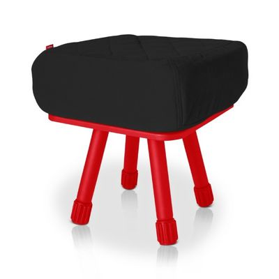 Fatboy® Krukski Stool - Black / Red FB-KRU-BLK-TRED