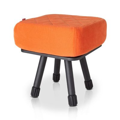 Fatboy® Krukski Stool - Orange / Black FB-KRU-ORG-TBLK