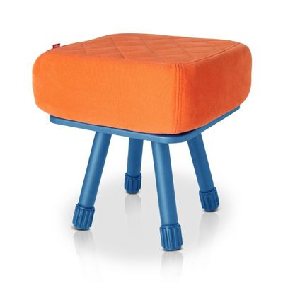 Fatboy® Krukski Stool - Orange / Blue FB-KRU-ORG-TBLU
