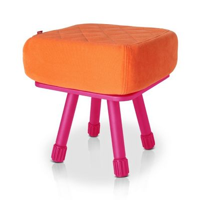 Fatboy® Krukski Stool - Orange / Pink FB-KRU-ORG-TPNK