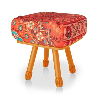 Fatboy® Krukski Stool - Persian Red / Orange FB-KRU-PRED-TORG
