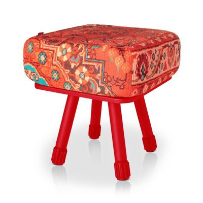 Fatboy® Krukski Stool - Persian Red / Red FB-KRU-PERRED-TRED