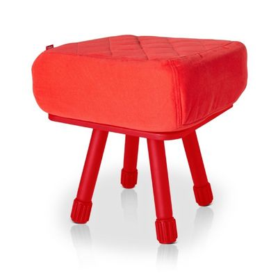 Fatboy® Krukski Stool - Red / Red FB-KRU-RED-TRED