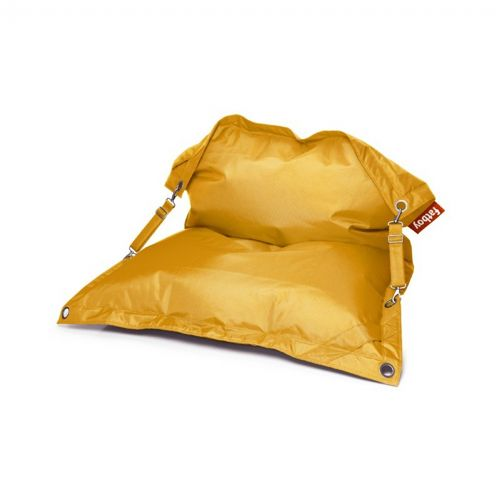 Fatboy® Buggle-Up Outdoor Beanbag Lounger Yellow Ochre FB-BGL-YLW