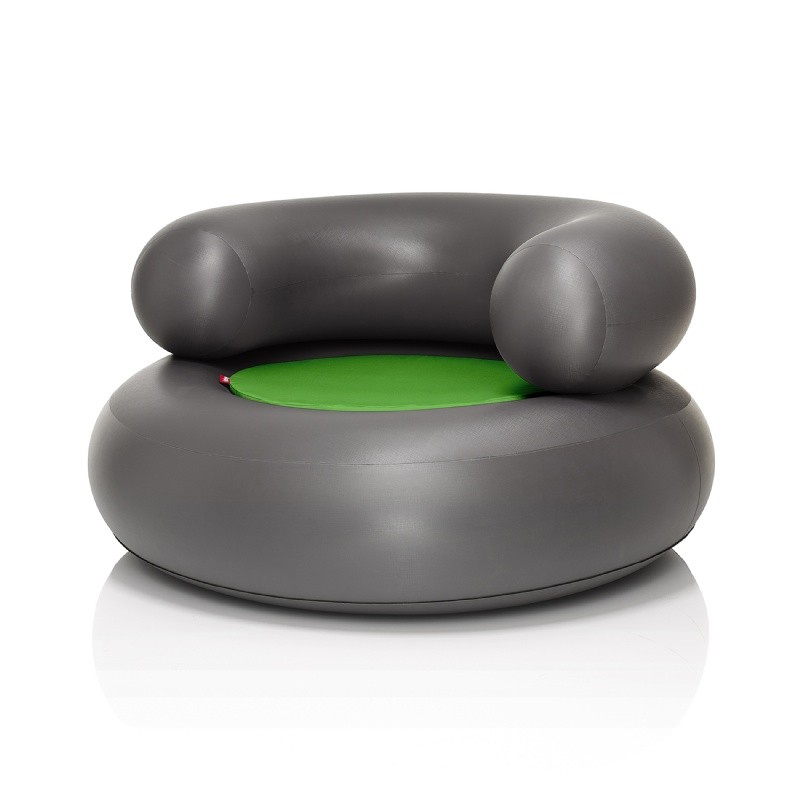 Fatboy® CH-AIR Anthracite with Green Pillow