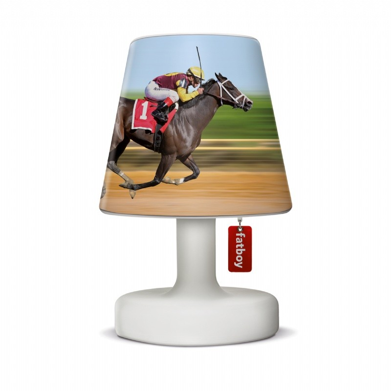 Fatboy® Cooper Cappie Lampshade - Horse Race