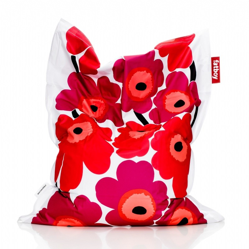 Red Bean Bags: Fatboy Junior Kids Marimekko Bean Bag Red