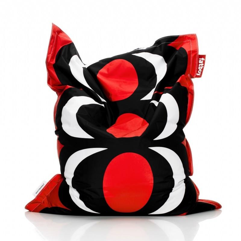 fatboy marimekko bean bag chair kavio red 55x70 fb kavio. Black Bedroom Furniture Sets. Home Design Ideas