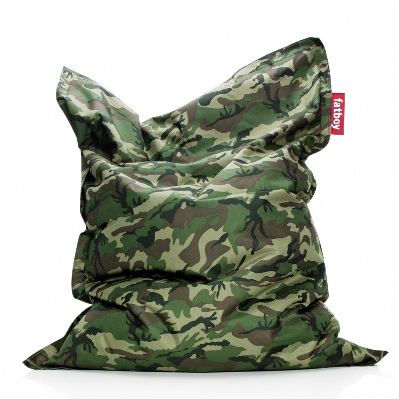 Fatboy original lounge beanbag camouflage fb ori cam for Camo chaise lounge