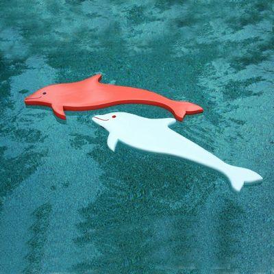 Kids Dolphin Pool Float Medium Thick Lw Kd2 Cozydays