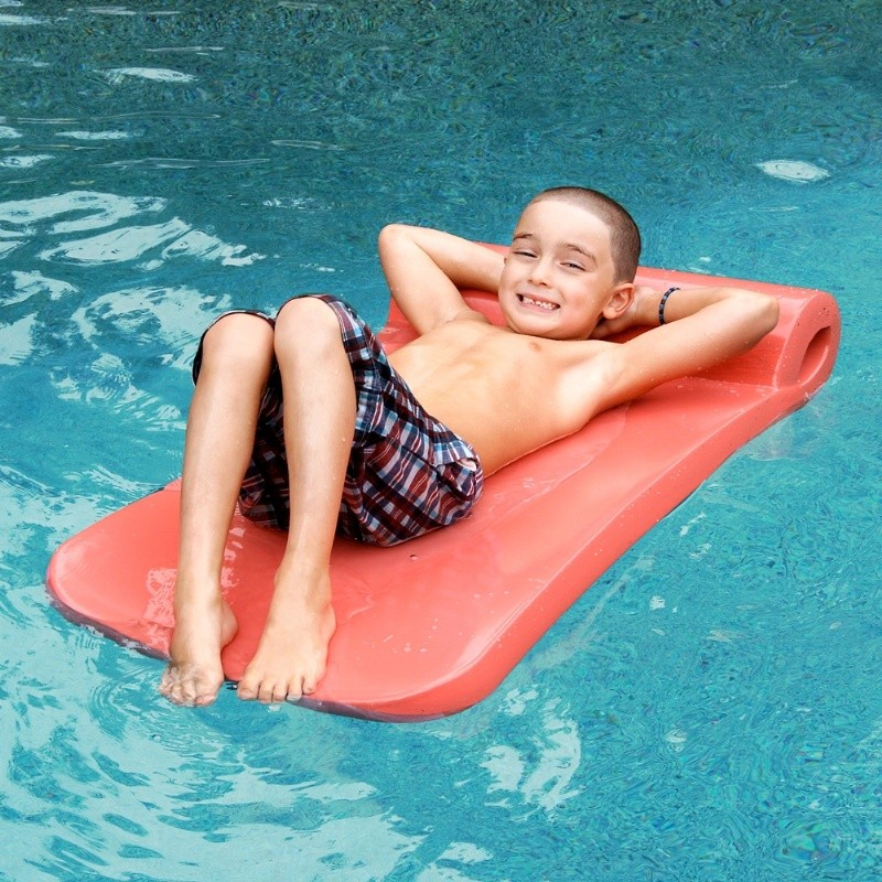 Pirate Island Pool Float: Ultra Kids Pool Float Medium Thick
