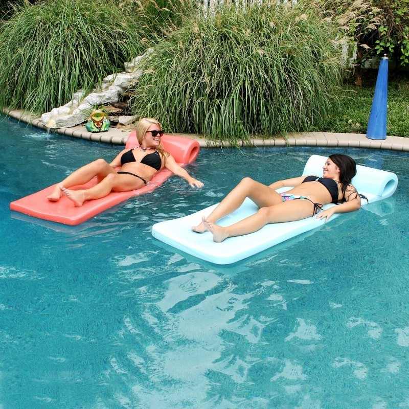 Lazy Waves Pool Float 2.5 Inch Thick