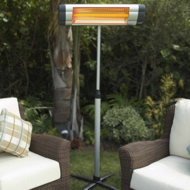 Indoor Outdoor Electric Heater S-1500 Free Standing