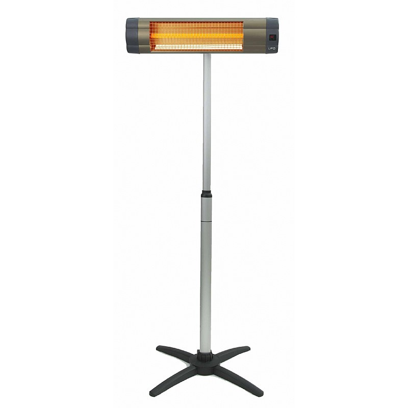 Patio Heaters: Indoor Outdoor Electric Heater UK-1500 Free Standing