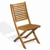 Capri Acacia Wood Outdoor Folding Chair OG-CPFC