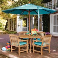 Shorea Wood Chadwick Outdoor Dining Set 5 Piece OG-CH5SET