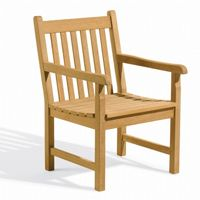 Shorea Wood Classic Outdoor Arm Chair OG-CDCH