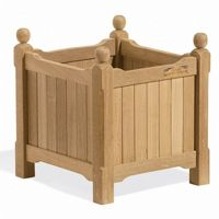 Shorea Wood English Outdoor Planter 15 inch OG-PL15