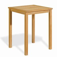 Shorea Wood Square Counter Height Dining Table 28x28 inch OG-HA28CT