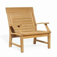 Shorea Wood Sutton Outdoor Club Chair OG-SUCH