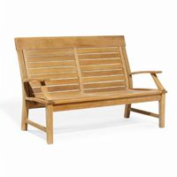 Shorea Wood Sutton Outdoor Club Love Seat OG-SULS